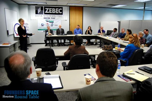 Houston Founders Space Roundtable
