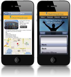 Corona on an iPhone