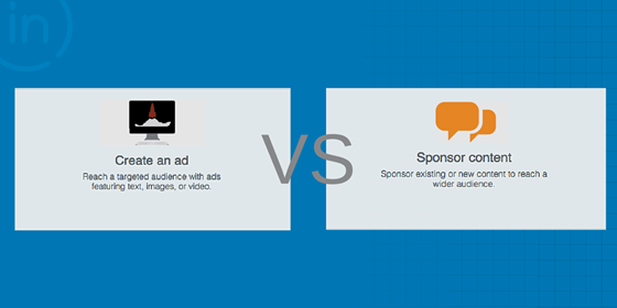 LinkedIn Ad vs Sponsored Content Bootstrap Marketing
