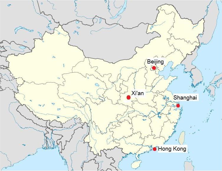 Gaochun Xian Map - Jiangsu, China - Mapcarta |Xian East Asia Map